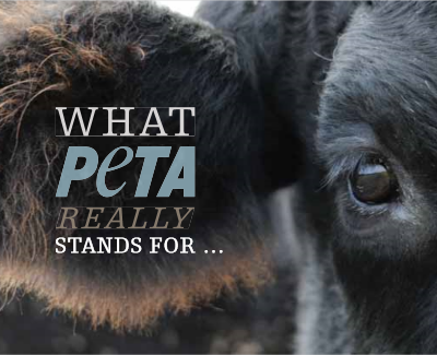 What PETA stands for