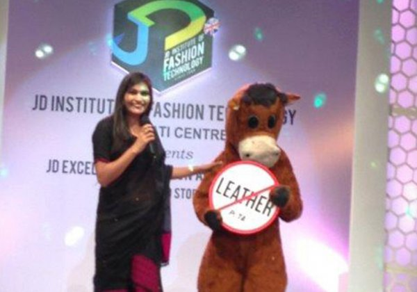 Guwahati's JD Institute of Fashion Technology's Annual Show Says NO to Leather