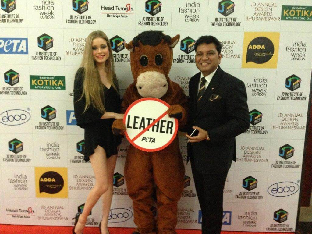 JD Executive Director RC Dalal and Brazilian model Amanda