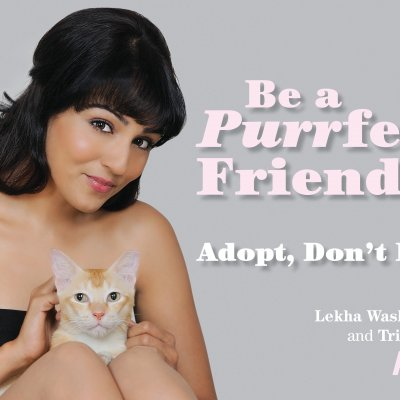 Lekha Washington Asks Fans to Adopt Homeless Animals