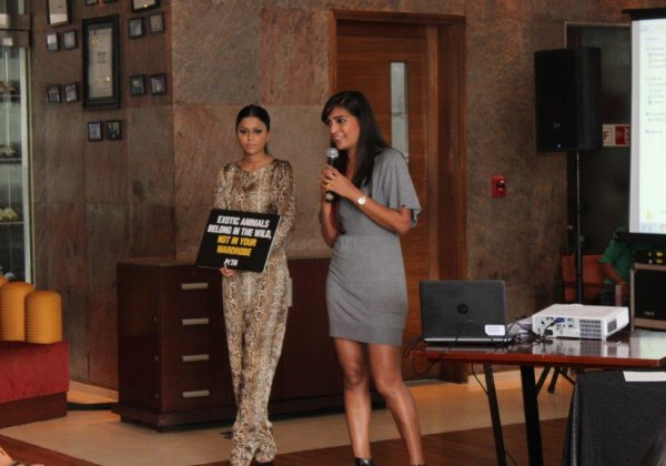 Talk on Vegan Fashion by PETA at Pune Fashion Week