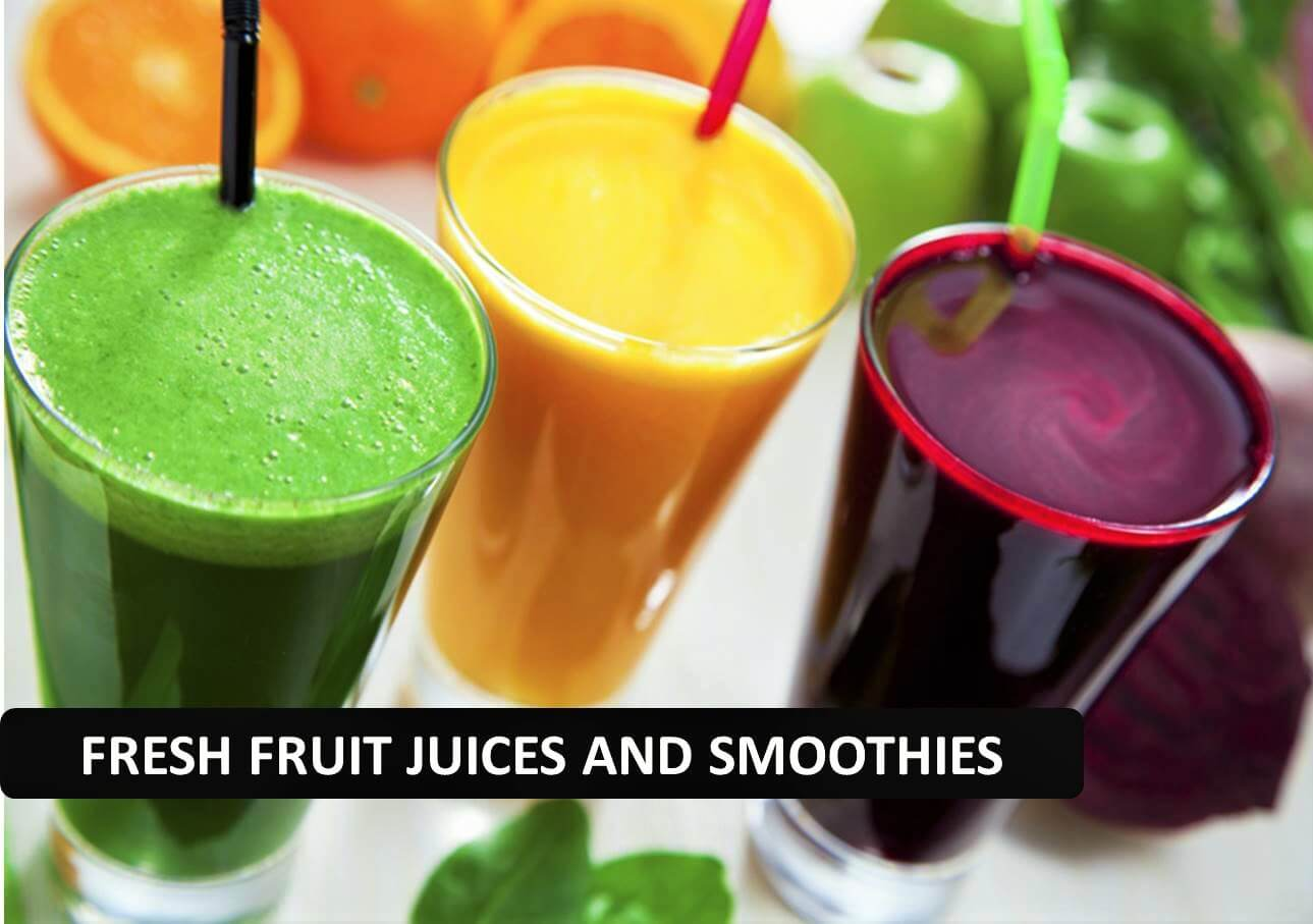 Fresh Juices & Smoothies