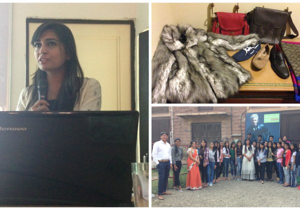 PETA Talks Vegan Fashion at JD Institute of Fashion Technology–Jodhpur