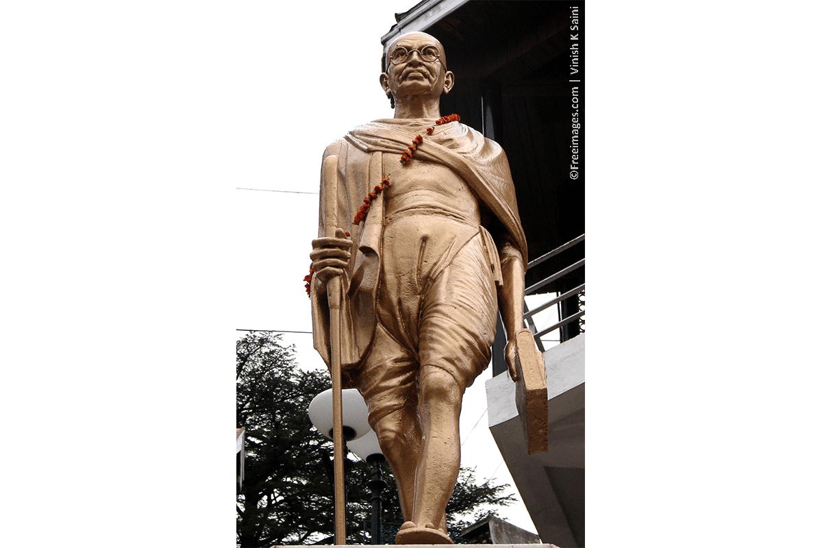 Bring Non-Violence Into Your Diet & Celebrate Gandhi's Birthday