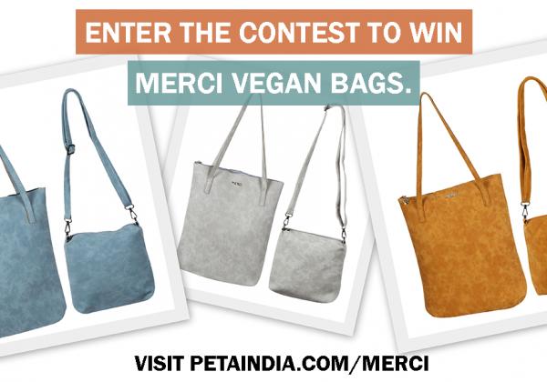 Win a Merci Vegan Bag