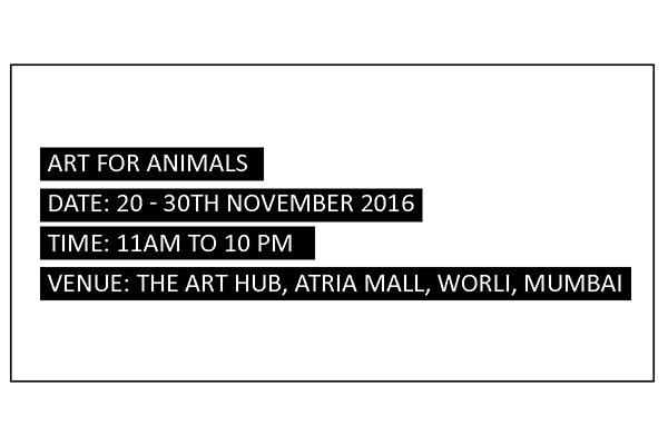 Mumbai's The Art Hub to Promote Animal Protection