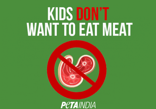 Proof That Kids Don't Want to Eat Meat