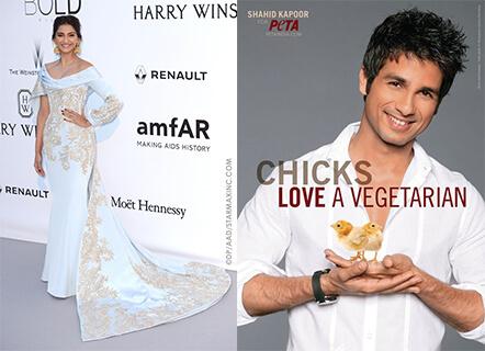 Shahid Kapoor & Sonam Kapoor Crowned PETA's Hottest Vegetarians