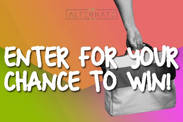 Win a Men's Vegan Bag From The Alternate