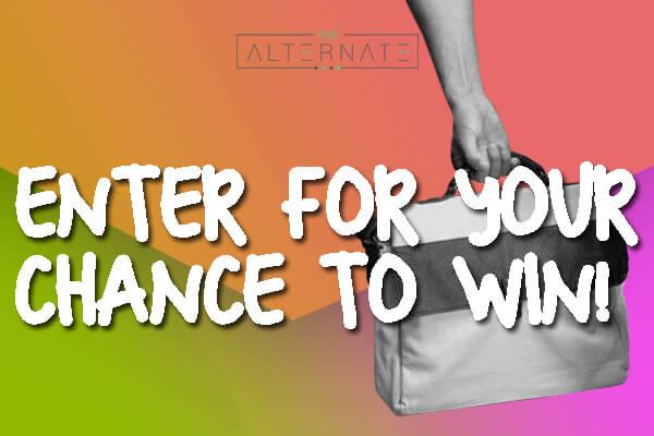 Win a Men's Vegan Bag From The Alternate