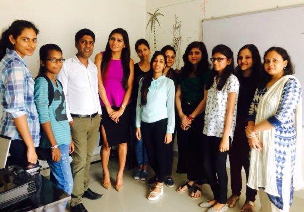 Talk on Vegan Fashion by PETA at JD Institute, Siliguri
