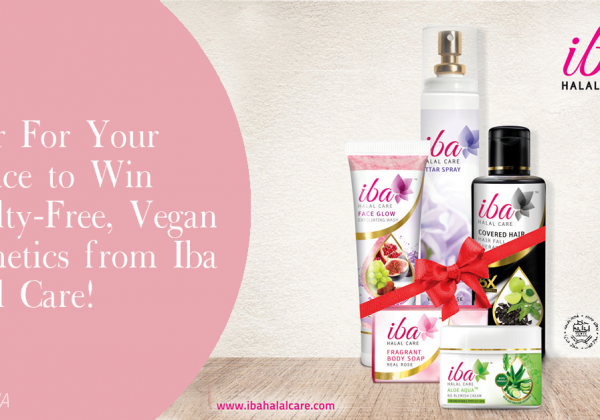 Enter to Win Cruelty-Free Products From Iba Halal Care!