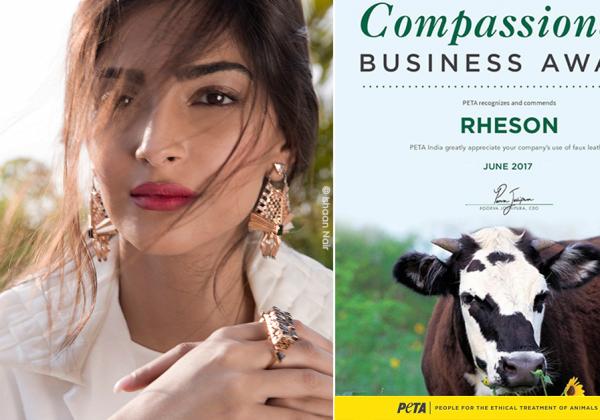 Sonam Kapoor and Rhea Kapoor's 'Rheson' Fashion Label Wins PETA Award