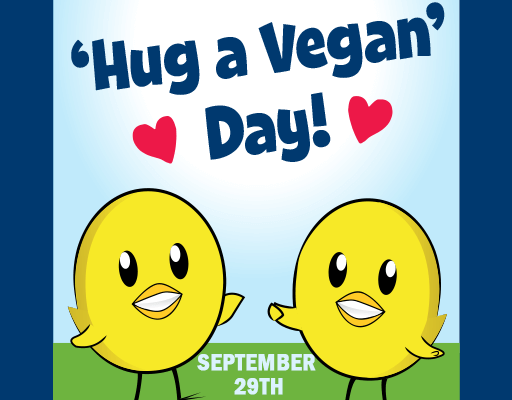 'Hugshots' Wanted: Take Part in PETA's 'Hug a Vegan' Day Mission