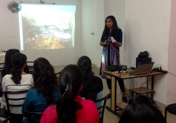 PETA Gives a Talk on Ethical Fashion at JD Institute of Fashion Guwahati