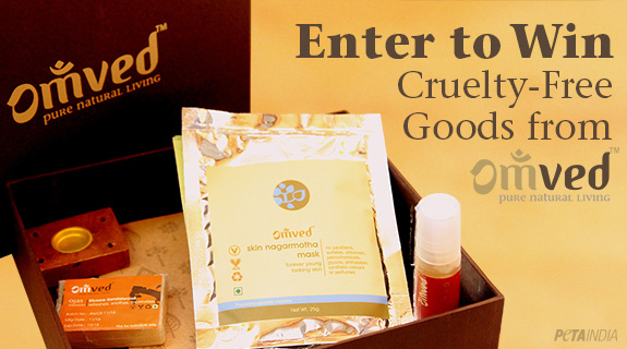 Enter to Win Cruelty-Free Goods from Omved