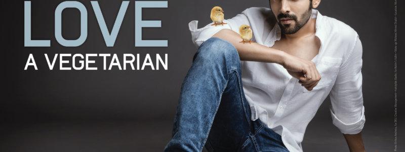Kartik Aaryan Stars in New PETA India Campaign: 'Chicks Love a Vegetarian'