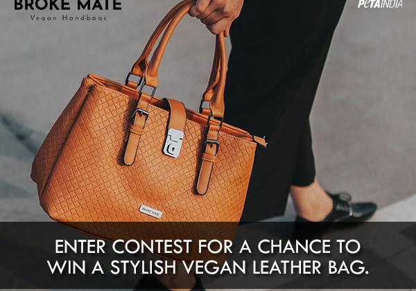 Broke Mate Vegan Leather Bag Contest