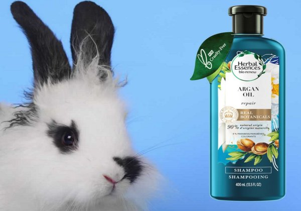 PETA US Welcomes Herbal Essences to the 'Beauty Without Bunnies' List