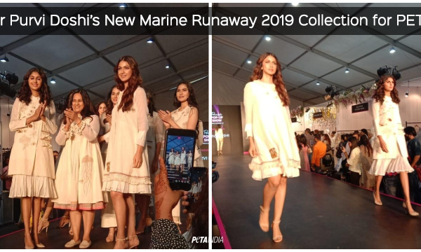 Designer Purvi Doshi's New Marine Runway 2019 Collection Makes Waves at Pernia's Pop-Up Show