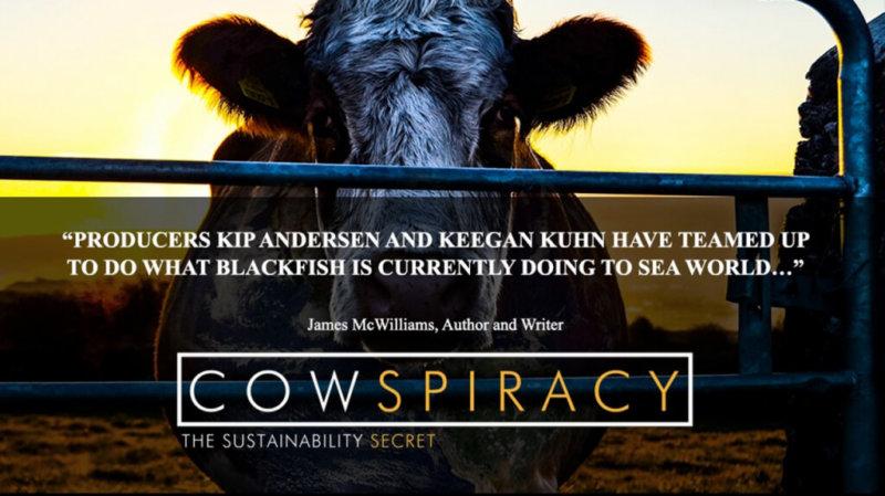 Cowspiracy poster for Mumbai screening 2019