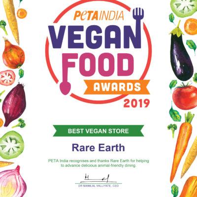 Vegan food awards 2019