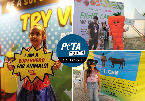 PETA Youth Spreads Compassion All Around India in 2019