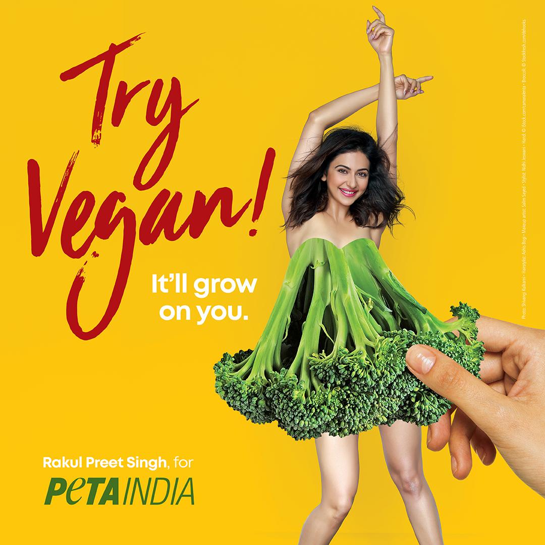 Rakul Preet Go Vegan Ad World Environment Day