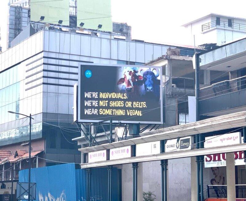 bangalore shoppers billboard campaign