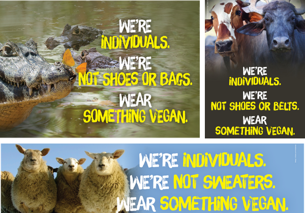 New PETA India Billboards Ask Shoppers to Ditch Wool, Leather, and Exotic Skins
