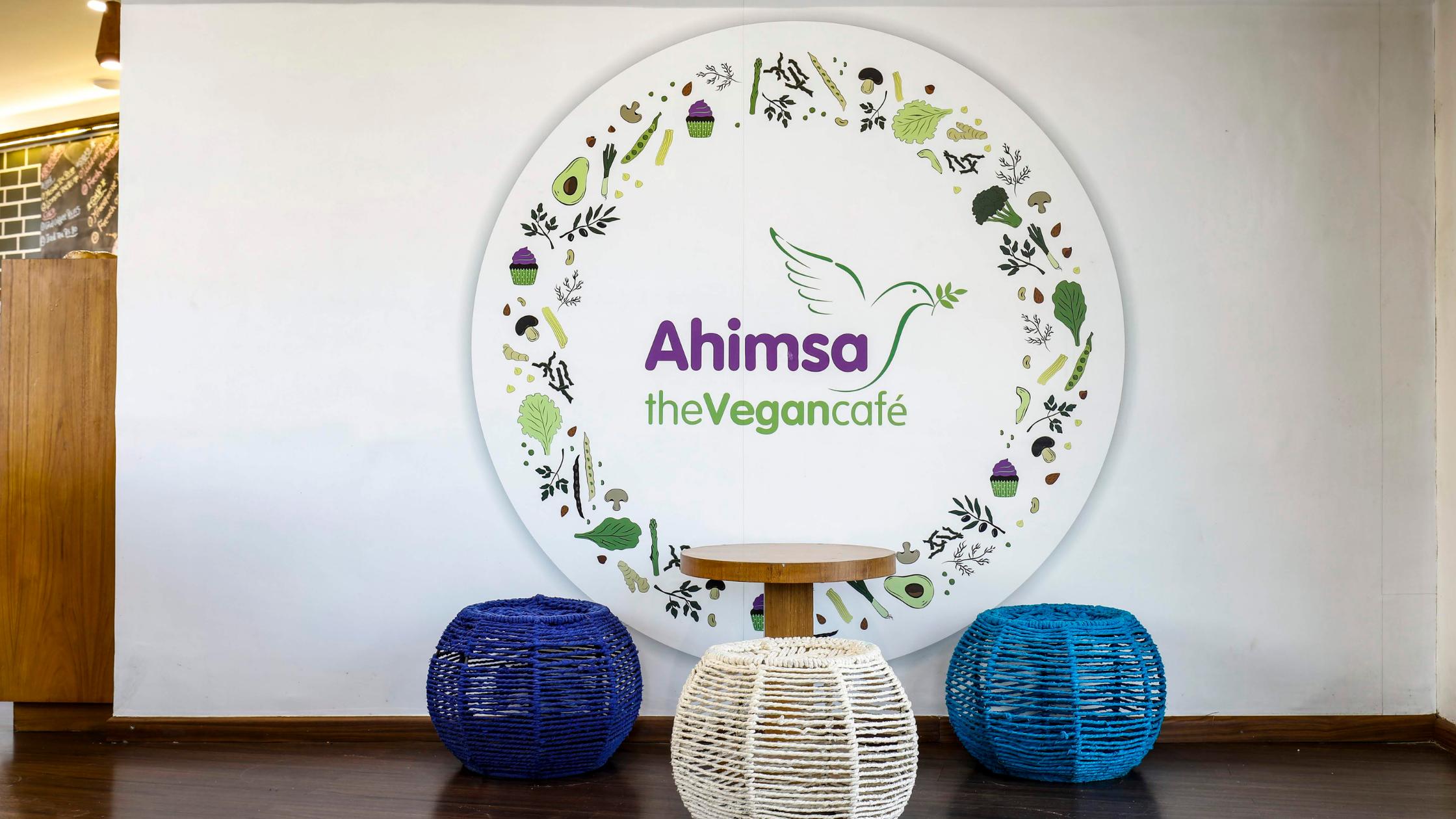best vegan cafe ahimsa