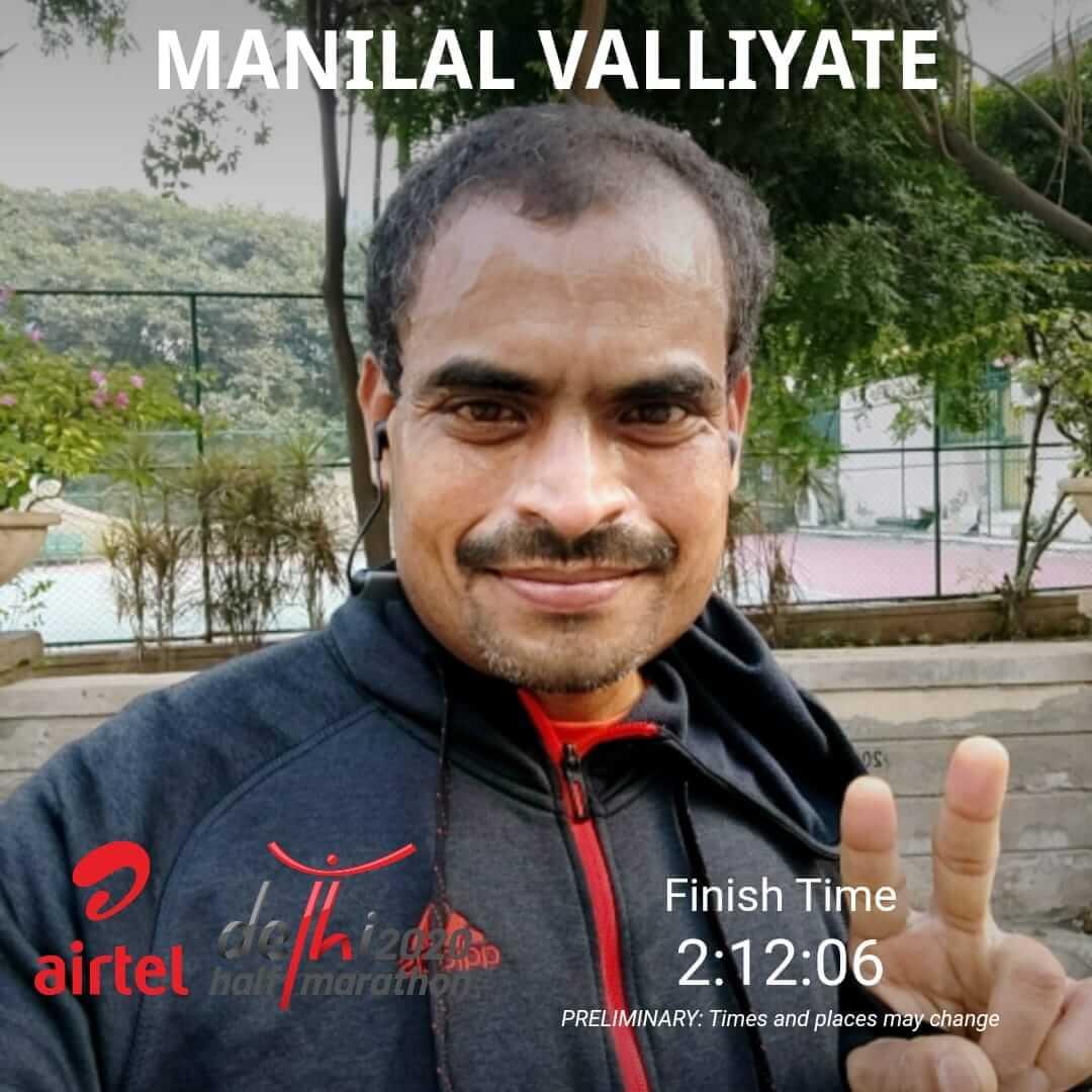 Dr M Delhi Marathon Photo 2020
