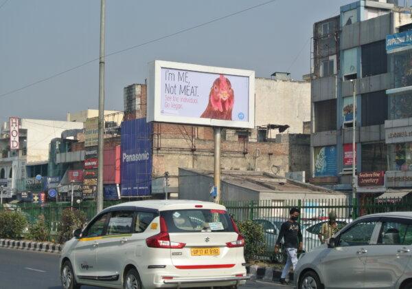 PETA India's 'I'm ME, Not MEAT' Billboards Urge People to Go Vegan