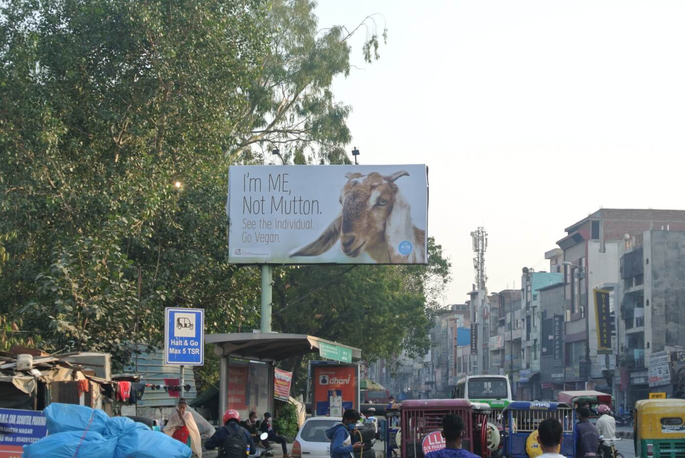 goat patparganj rd delhi i'm me not meat