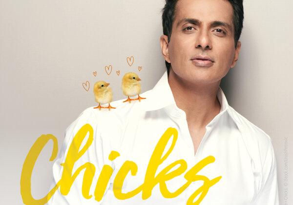 Sonu Sood Stars in New PETA India Ad: 'Chicks Love a Vegetarian!'