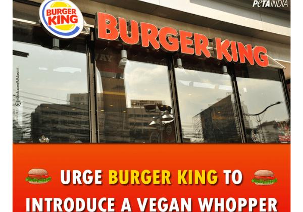 PETA India Asks for a Vegan Burger King; Raveena Tandon Agrees